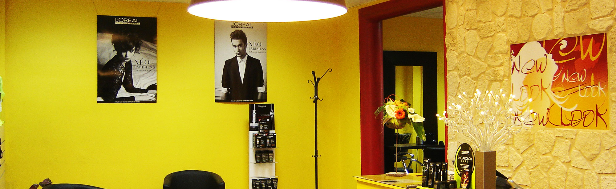 Salon de coiffure new look situ gournay en bray 76 for A new look salon